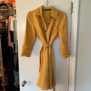 Zara Shirt Blouse Dress